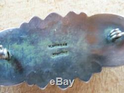 Harry Morgan Vintage Spiny Oyster, Damale Turquoise Pin -dark Patina 20 Grams
