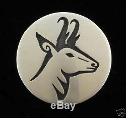 Hopi Antelope Pin/Pendant