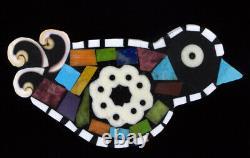 Multi-Stone Inlay Bird Pin-Pendant By Santo Domingo Artist Mary L. Tafoya