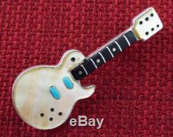 Multi-Stone Inlay Guitar Pin-Pendant By Zuni Artist Eric Lonjose