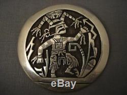 Museum Hopi Bryan Kagenvema Silver Pin