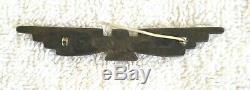 Old Vintage Thunderbird Manta Pin Over 3 Fred Harvey Native American Navajo