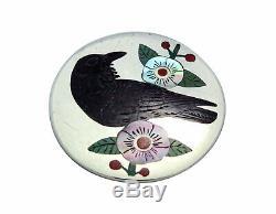 Ruddell, Nancy Laconsello, Pin, Pendant, Raven, Silver, Zuni Handmade, 1.5