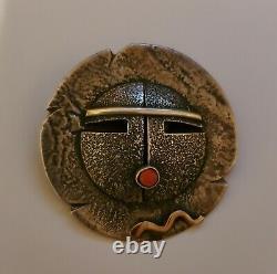 Sterling 14k Jolene Eustace Classic Pin Zuni