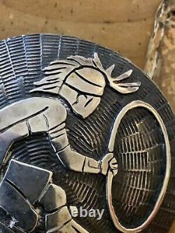 Sterling Native American Pin Hoop Dancer
