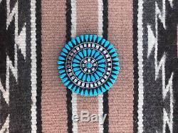 Turquoise Vintage Navajo Zuni Pin/Pendant