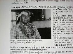 ULTRA RARE Leekya Deyuse ZUNI STERLING SILVER & CARVED TURQUOISE LEAF PIN BROOCH