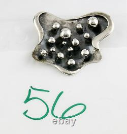 VTG 1955 Salvador Teran Signed. 925 Sterling Silver Pin/Pendant