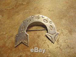 Very Fine OLD Fred Harvey Era Navajo Sterling Silver ARROW Pin