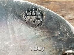 Victor Coochwytewa Hopi Overlay Sterling Silver Pin/brooch