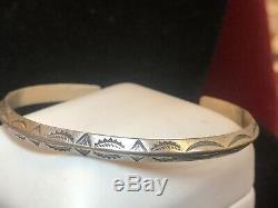 Vintage Estate Sterling Silver Native American Cuff Bracelet 2 Necklace & Pin