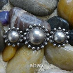 Vintage Fred Harvey Era Satellite Orb Pin Brooch Sterling Silver Native American