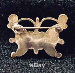 Vintage Zuni Tribe Butterfly Pin/pendant